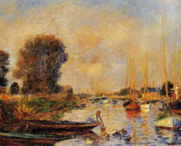 Pierre-Auguste Renoir The Seine at Argenteuil