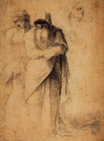 Sebastiano del Piombo Study for Male Figures