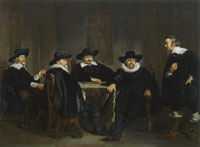 Thomas de Keyser The Burgomasters of Amsterdam Learn of the Impending Visit of Maria de' Medici