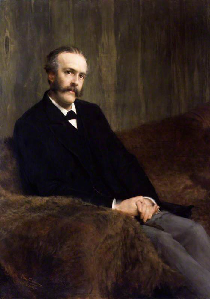 Lawrence Alma-Tadema - Arthur James Balfour, 1st Earl of Balfour