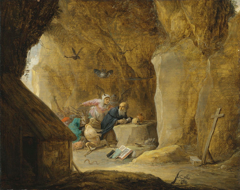 David Teniers the Younger - The Temptation of Saint Anthony