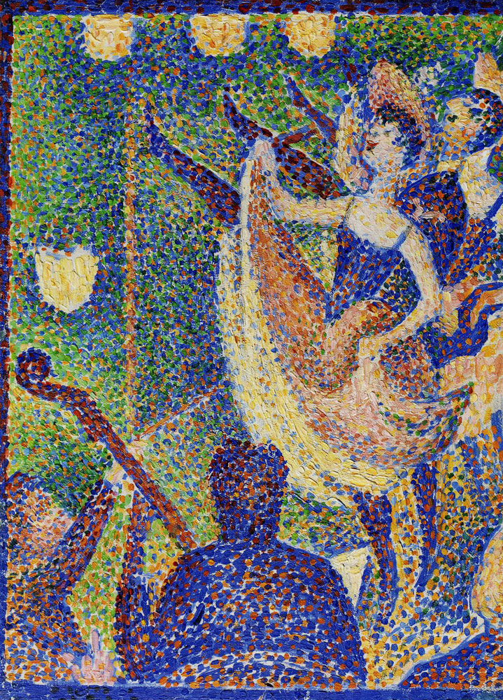 Georges Seurat - Study for Le Chahut