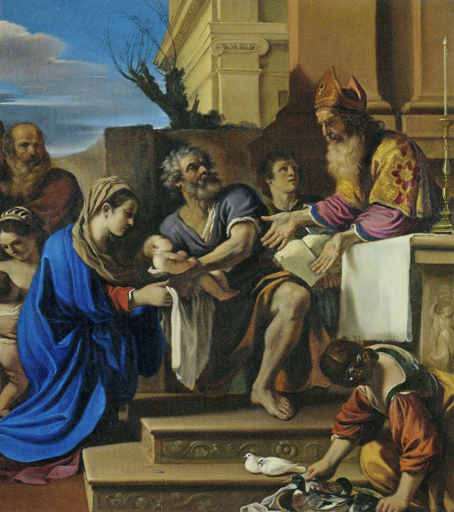 Guercino - The Presentation of Jesus in the Temple
