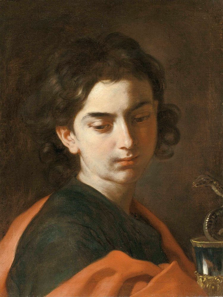 Francesco Solimena - Saint John the Evangelist