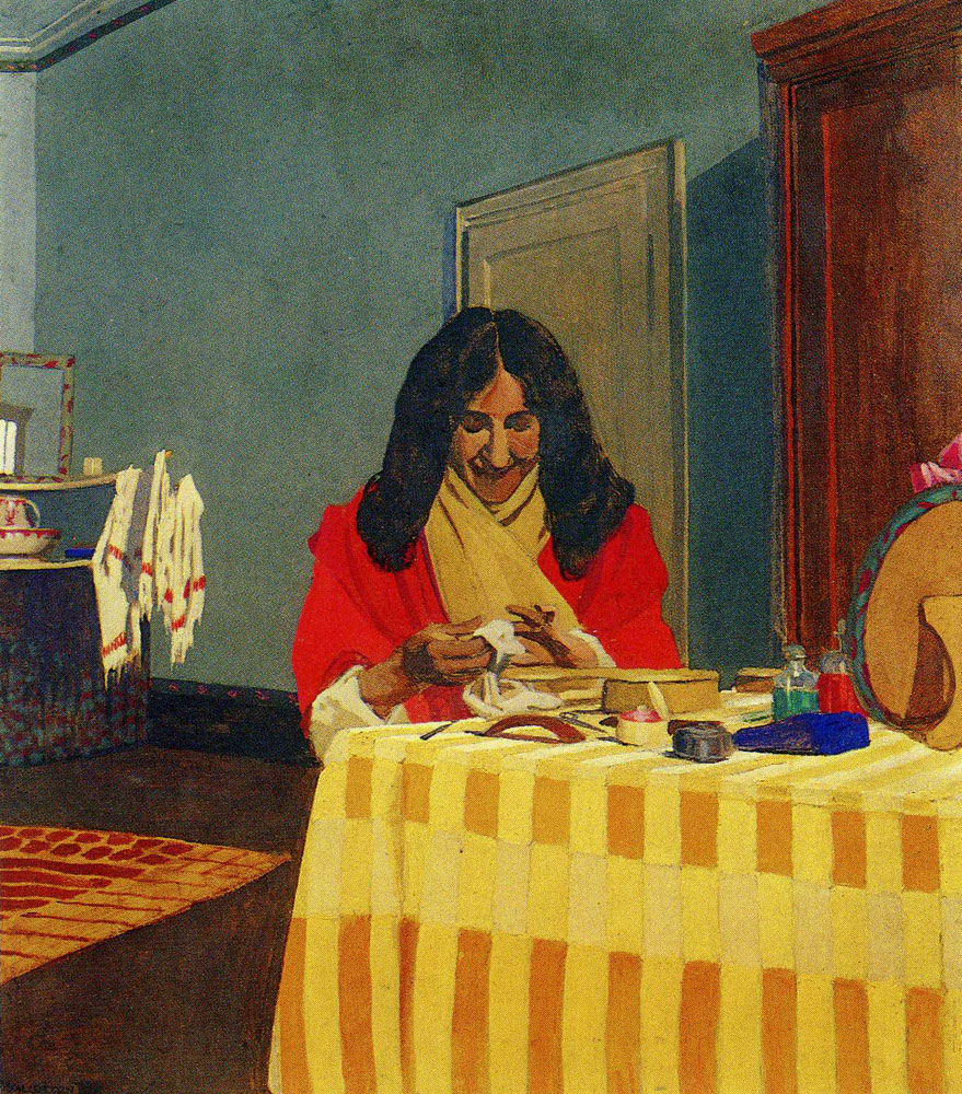 Felix Vallotton - Mme. Felix Vallotton