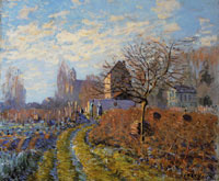 Alfred Sisley Autumn Frost