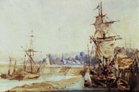 Richard Parkes Bonington Boulogne Harbour