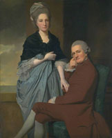 George Romney Mr and Mrs William Lindow
