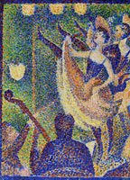 Georges Seurat Study for Le Chahut