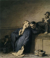 Honoré Daumier A Criminal Case