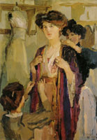 Isaac Israels Essayeuses chez Paquin