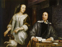 Jacob van Loo - Portrait of a Couple, Possibly Jan Jacobsz. Hinlopen and Leonora Huydecoper