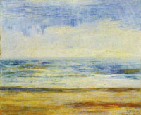 James Ensor Beach at Ostend