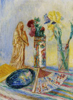 James Ensor Chinoiseries, Flowers, Vases and Fans