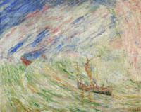 James Ensor Christ Calming the Storm