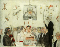 James Ensor At the Conservatoire
