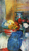 James Ensor Flowers and China