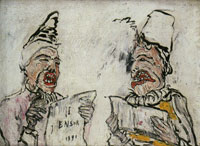 James Ensor The Grotesque Singers