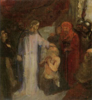 James Ensor The Healing of the Cripple