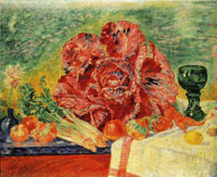 James Ensor Red Cabbage and Green Wine Glass