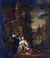 Jan Weenix Galant Couple
