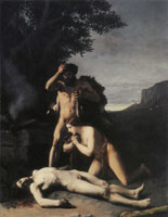 Jean-Jacques Henner Adam and Eve Finding the Body of Abel