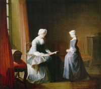 Jean-Siméon Chardin The Good Education