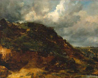 John Constable A Bank on Hampstead Heath