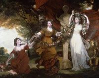 Joshua Reynolds - Three Ladies Adorning a Term of Hymen