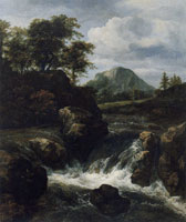 Jacob van Ruisdael Waterfall