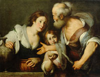 Bernardo Strozzi The Prophet Elijah and the Widow at Zarephath