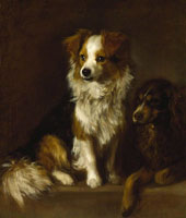 Thomas Gainsborough Tristram and Fox