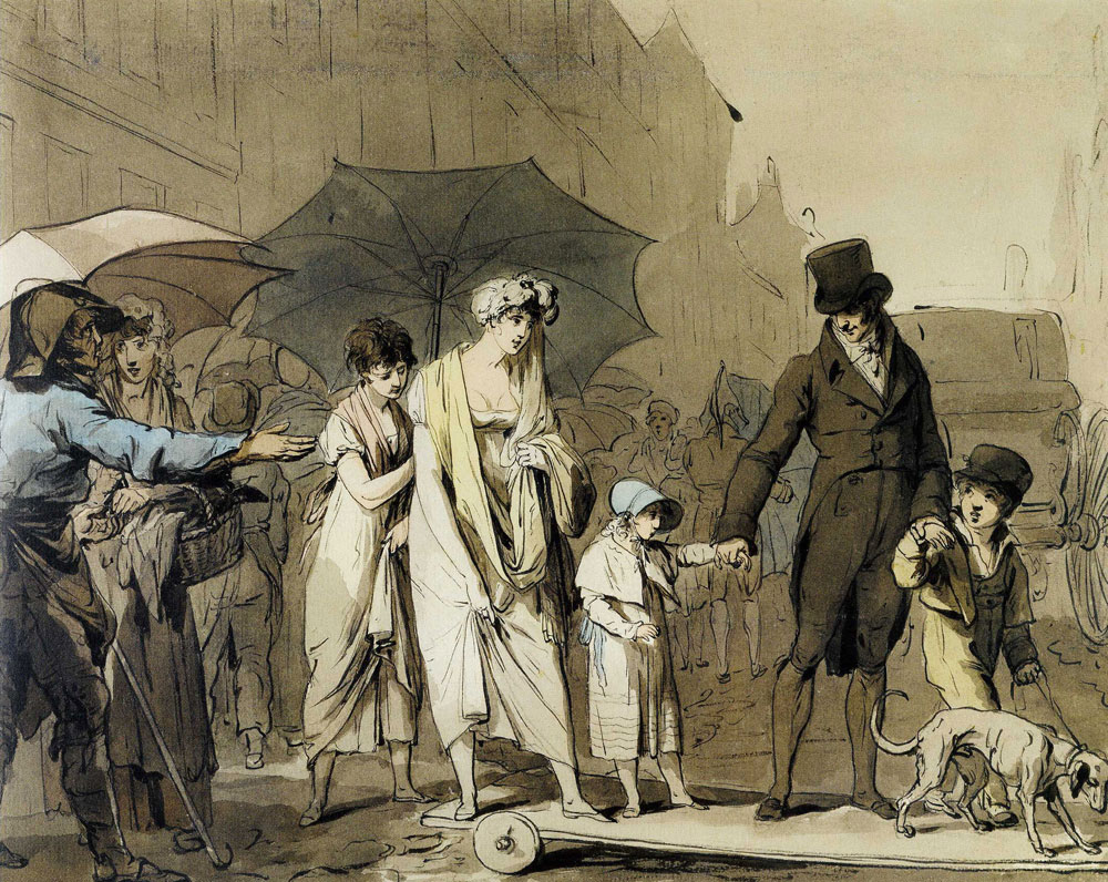 Louis-Léopold Boilly - To Pass, You Pay