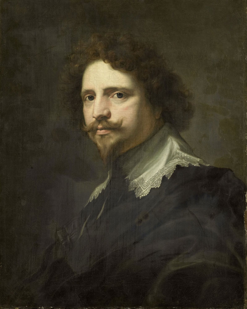 Copy after Anthony van Dyck - Michel Le Blon, Agent of Queen Christina of Sweden