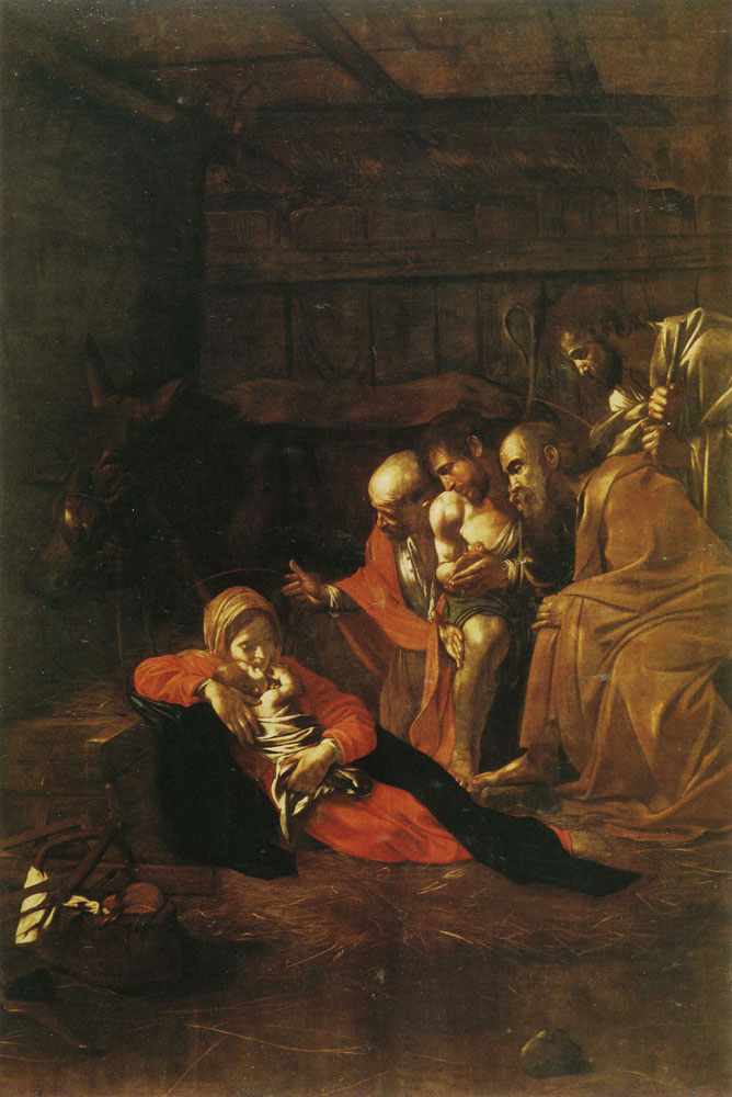 Caravaggio - The Adoration of the Shepherds