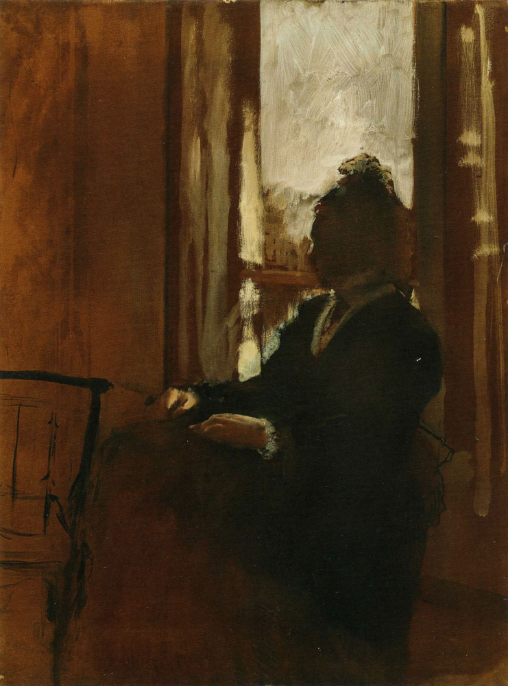 Edgar Degas - Woman at a Window