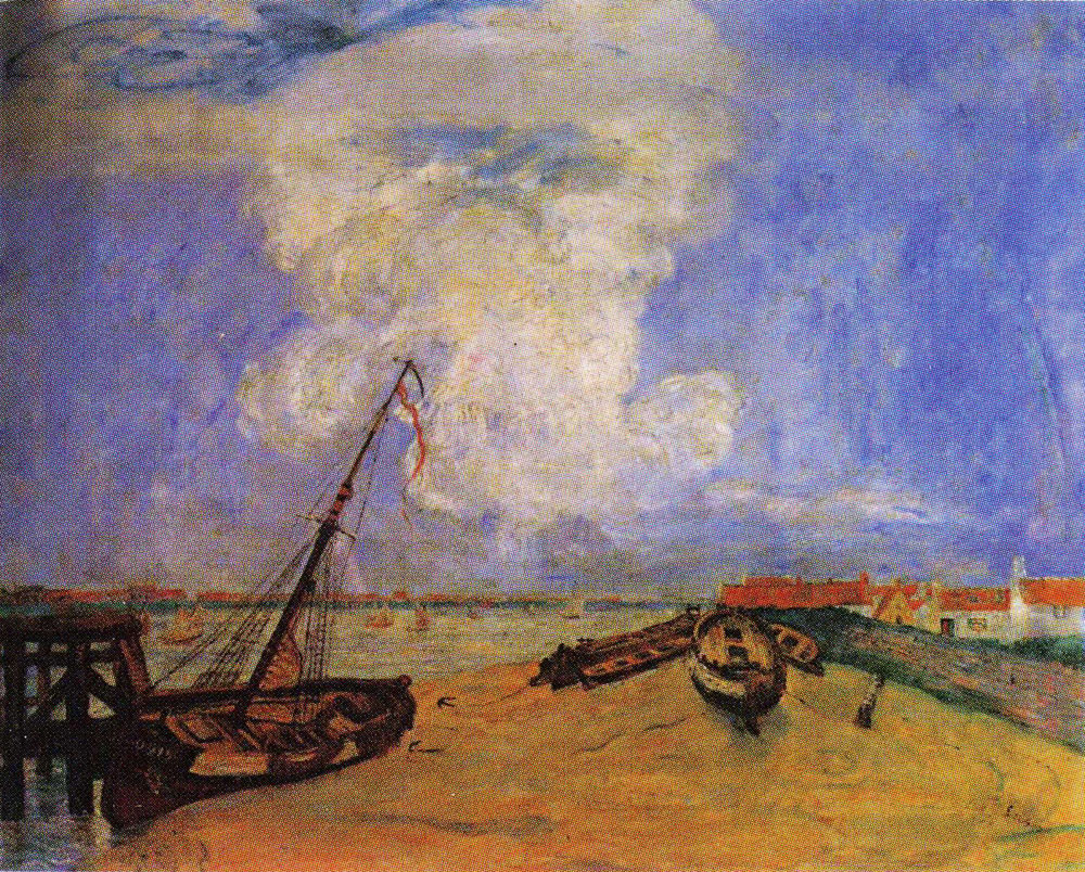 James Ensor - Beached Boats