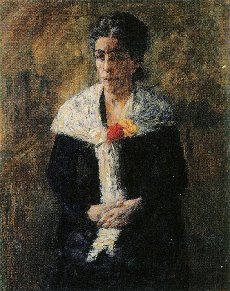 James Ensor - Portrait of the Artist's Mother