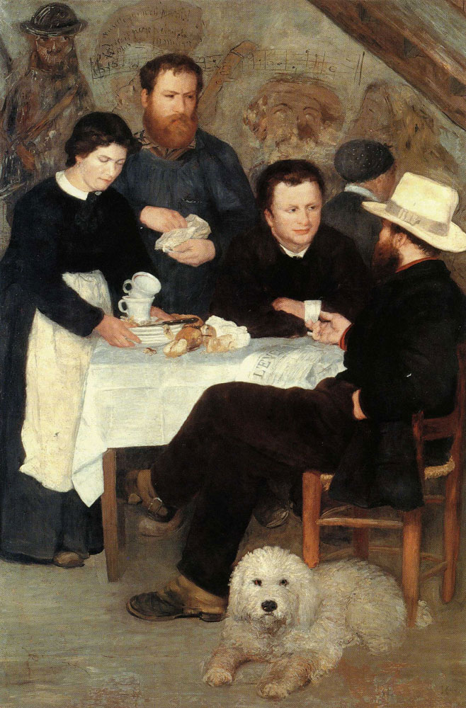 Pierre-Auguste Renoir - Mother Anthony's Tavern