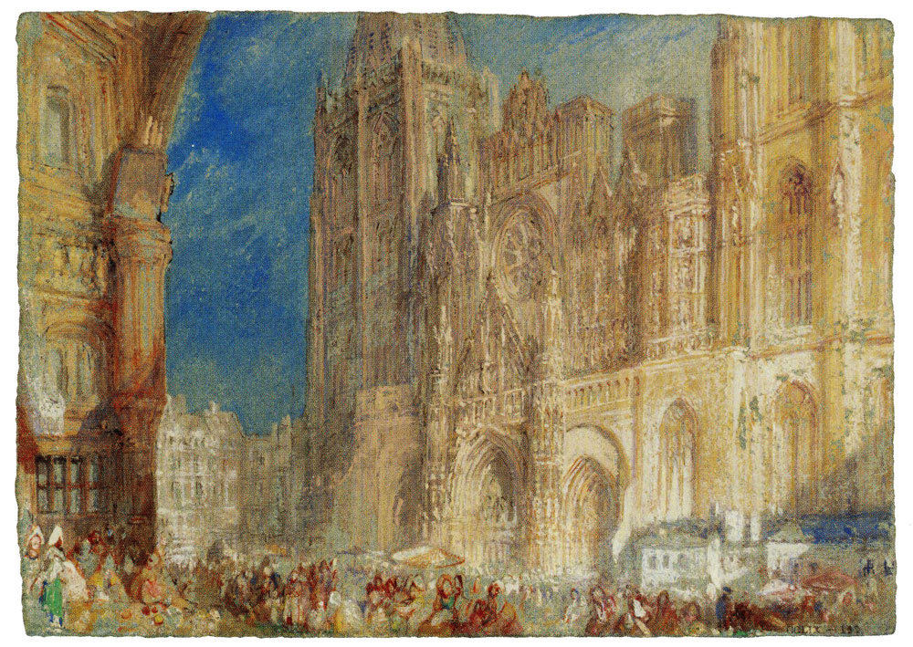 J.M.W. Turner - Rouen Cathedral