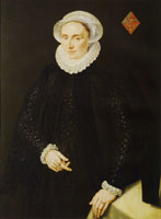 Adriaen Thomasz. Key Portrait of Marguerite le Prince