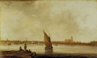 Aelbert Cuyp View on Dordrecht