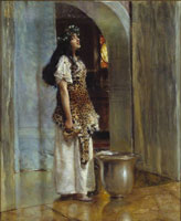 Lawrence Alma-Tadema A Priestess of Apollo