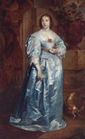 Anthony van Dyck A Lady of the Spencer Family
