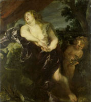 Anthony van Dyck The Penitent Mary Magdalene