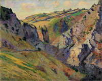 Jean-Baptiste Armand Guillaumin The Caverns of Prunal near Pontgibaud (Auverge)