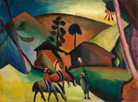 August Macke Indians on Horses