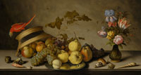 Balthasar van der Ast - Still Life with Fruit and Flowers