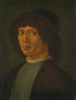 Manner of Filippino Lippi - Portrait of a Young Man