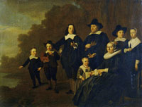 Copy after Jacob van Loo Portrait of the Family Rutger van Weert